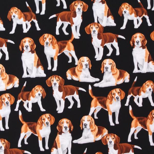 Timeless Treasures Hunde Beagles