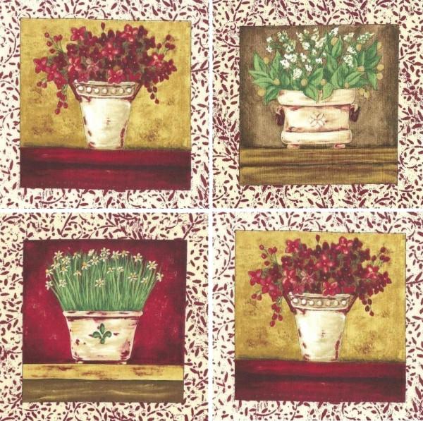 patchworkstoff blumen jo moulton country collage 4 panels 2