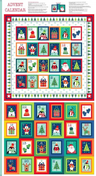 SALE Adventskalender DIY Novelty bunt Weihnachten *