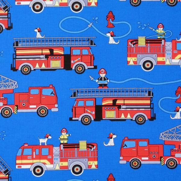 Timeless Fire Trucks und Feuerwehrmänner