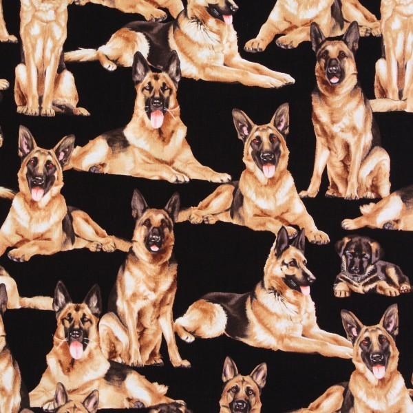 Schäferhunde Hunde Hunde Hundestoff