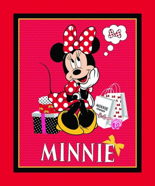Disney Minnie Mouse beim Shoppen Panel 90 cm