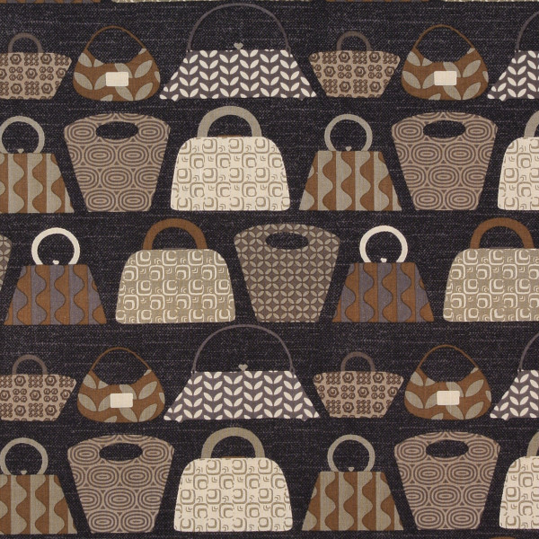 SALE Patchworkstoff Mod Girls Frauen Handtaschen braun
