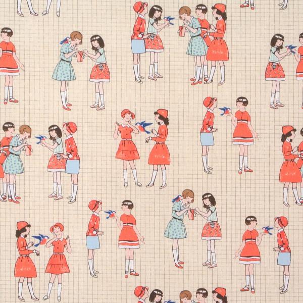 Windham Fabrics spielende Mädchen