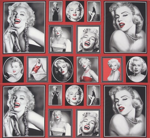 0,9 m Rarität Hollywood Marilyn Panel