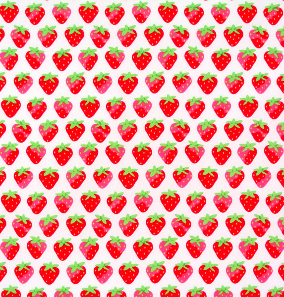 Lakehouse Erdbeeren auf Weiss Obst