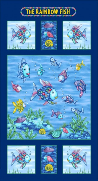 Regenbogenfisch Rainbow Fish Panel
