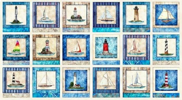 Smooth Sailing Segelschiffe Leuchttürme maritim