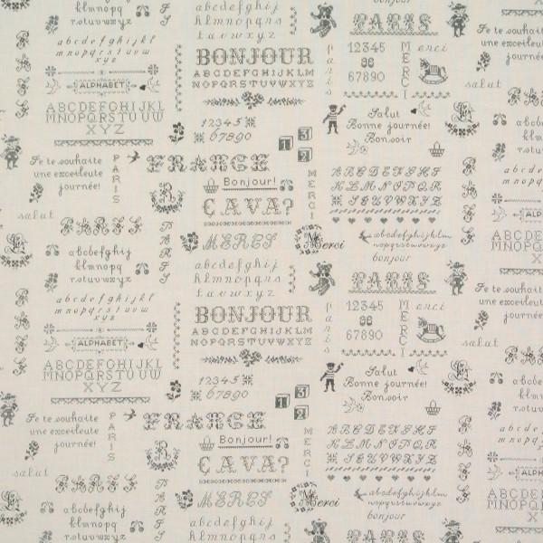 Yuwa Kreuzstichmuster Monogramme