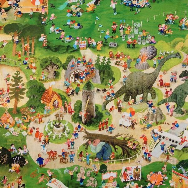 Wimmelbuch Jersey Auf dem Spielplatz