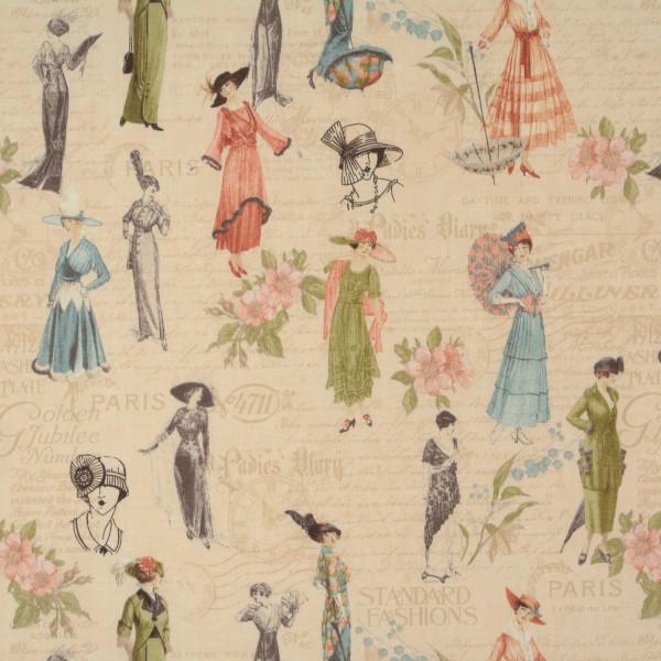 A Ladies Diary nostalgische Damen