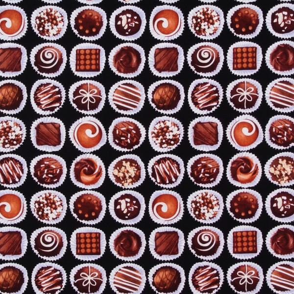 Oh Fudge Schokolade Pralinen auf Braun