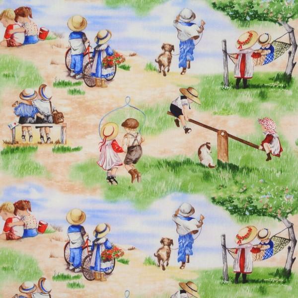 Childhood Memories Kinder Sommer Spielplatz