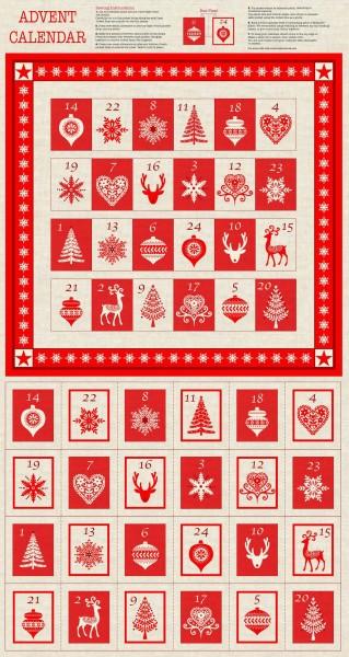 SALE Weihnachten Scandi DIY Adventskalender Motive