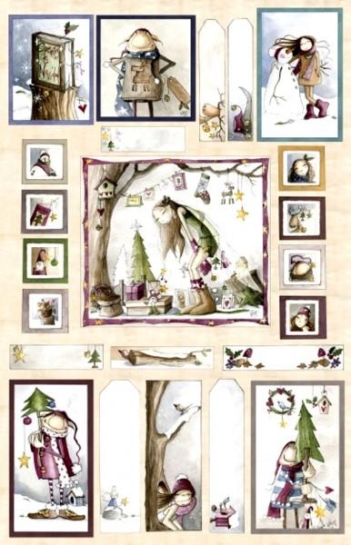 Dachboden der Elfen Ofelia Weihnachten Bilder 95 cm