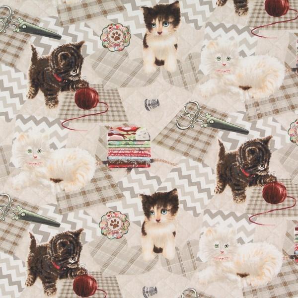 Krafty Kitten Katzen Nähutensilien •