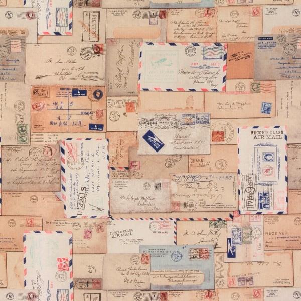 Correspondence Briefe Luftpost Schrift